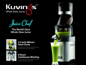 Kuvings whole slow juicer chef 4